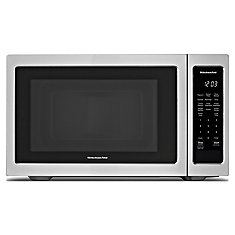 1.6 Cu. Ft., 21 3/4 inch Countertop Microwave, 1100 Watts