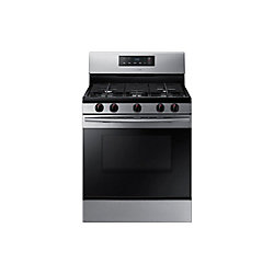 30-inch 5.8 cu.ft Freestanding Single Gas Range in Stainless Steel