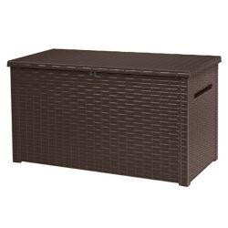 Keter Java Extra Large 30.7 cu. ft. Elegant Deck Storage Box