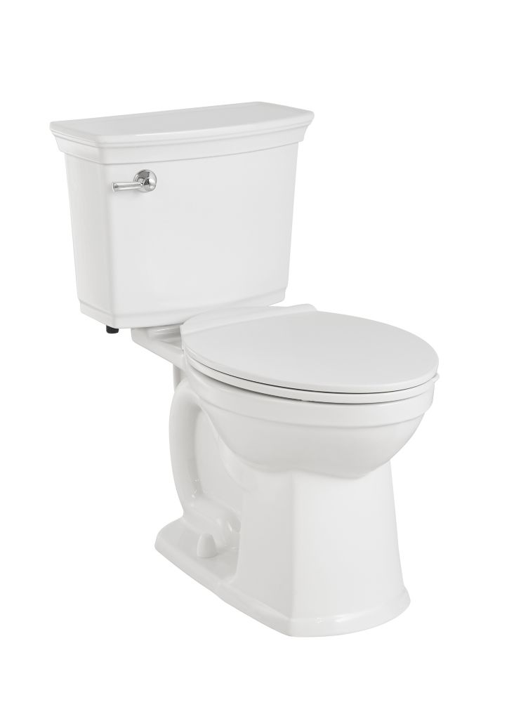 American Standard Vormax Plus Right Height Elongated Bowl Toilet in White
