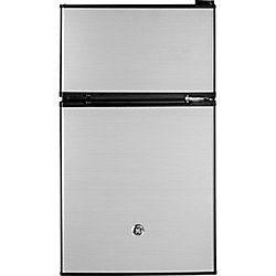 18.75-inch W 3.1 Cu.ft. Compact Refrigerator in Stainless Steel, ENERGY STAR