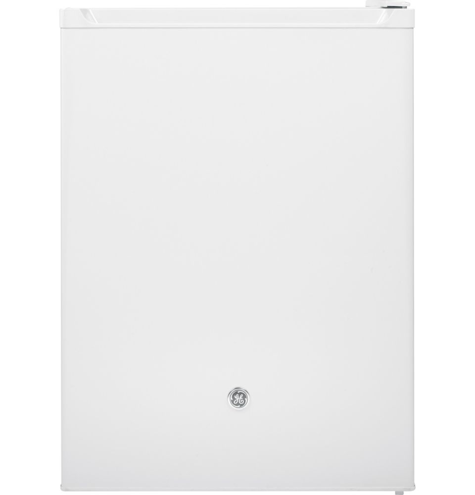 GE 5.6 cu. ft. Built-in Capable Compact Mini Refrigerator in White - ENERGY STAR®