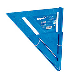 Empire 7-Inch and 12-Inch Polycast Rafter Square Set (2-Tool)