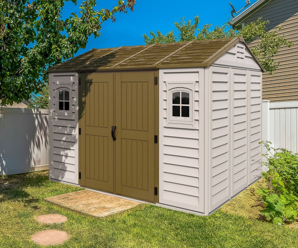boxes storage hardware ace sheds pin vinyl arrow galvanized deck steel shed