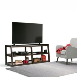 Simpli Home Sawhorse Wide TV Media Stand