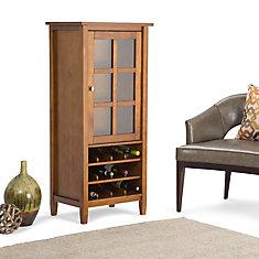 Warm Shaker High Storage Wine Rack