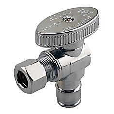 Jag Plumbing Packs - 1/2 Inch Cold Expansion PEX x 3/8 Inch COMP Shut Off Valve (2 -pack)