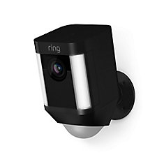 Battery Operated Spotlight Cam in Black