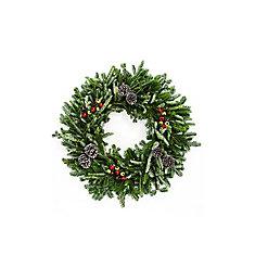28-inch Fraser Fir Holiday Wreath (2-Pack)
