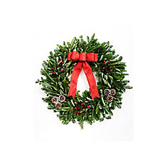 Decorated Holiday Wreath 28