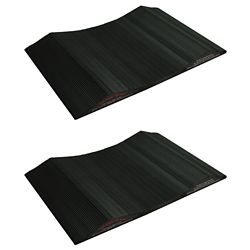 Park Smart 15-inch Wide Tire Saver Ramp for Large Vehicles (2-Pack)