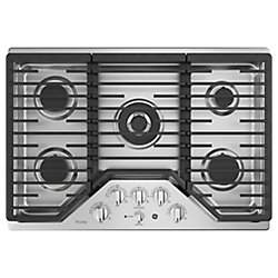 30 Built-In Gas Deep Recessed Edge-to-Edge Cooktop