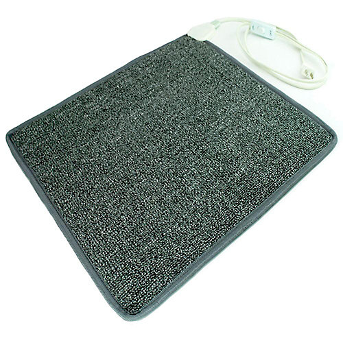 Cozy Toes Heated Carpet Mat 100 Watts Chauffage Personnel Chauffe Les Pieds Froids