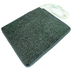 Cozy Toes Heated Carpet Mat 100 Watts Personal Heater Warms Cold Feet