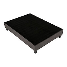 King Upholstered Platform Bed Base