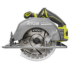 18V One+ 7-1/4-inch Brushless Cordless Circular Saw (Tool Only)
