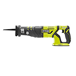 RYOBI 18V ONE+ Cordless Brushless Reciprocating Saw (Tool Only) with Blade