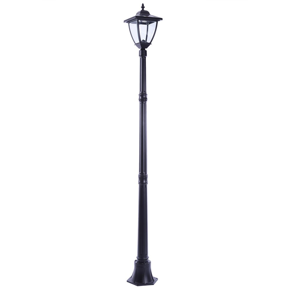Hampton Bay Led Solar Post Light 150 Lumens The Home