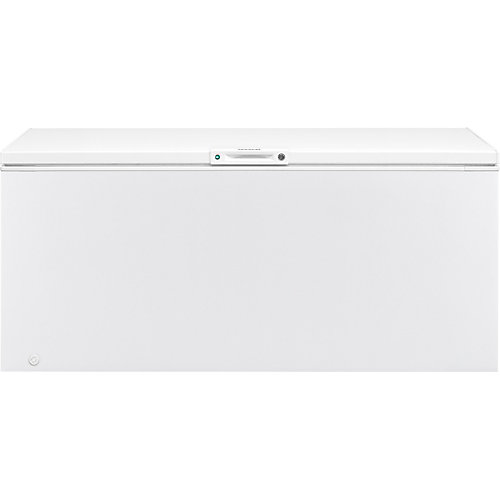 24.8 cu. ft. Chest Freezer in White