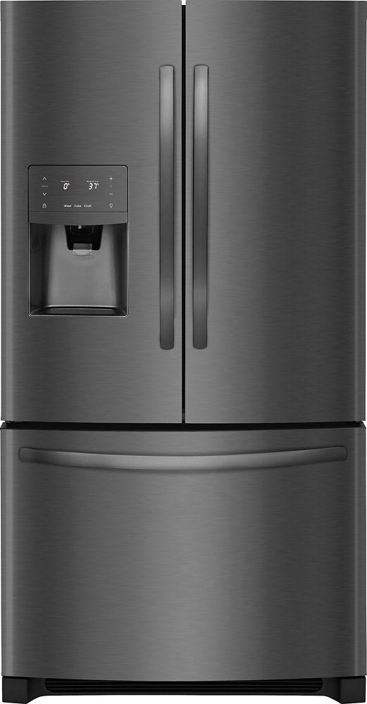 26.8 cu. ft. Bottom Freezer French Door Refrigerator in Black Stainless Steel - ENERGY STAR®