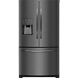 Frigidaire 26.8 cu. ft. Bottom Freezer French Door Refrigerator in Black Stainless Steel - ENERGY STAR®