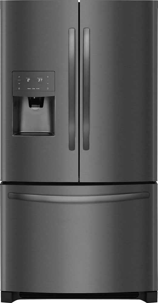 Frigidaire 26.8 cu. ft. Bottom Freezer French Door Refrigerator in Black Stainless Steel - ENERGY STAR®