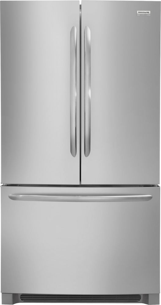 Frigidaire Gallery Gallery 36-inch 27.6 cu.ft. French Door Refrigerator in Stainless Steel - ENERGY STAR®