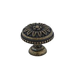 Richelieu Traditional Brass Knob - 0433