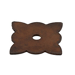 Richelieu Traditional Forged Iron Rosette for Knob - 213