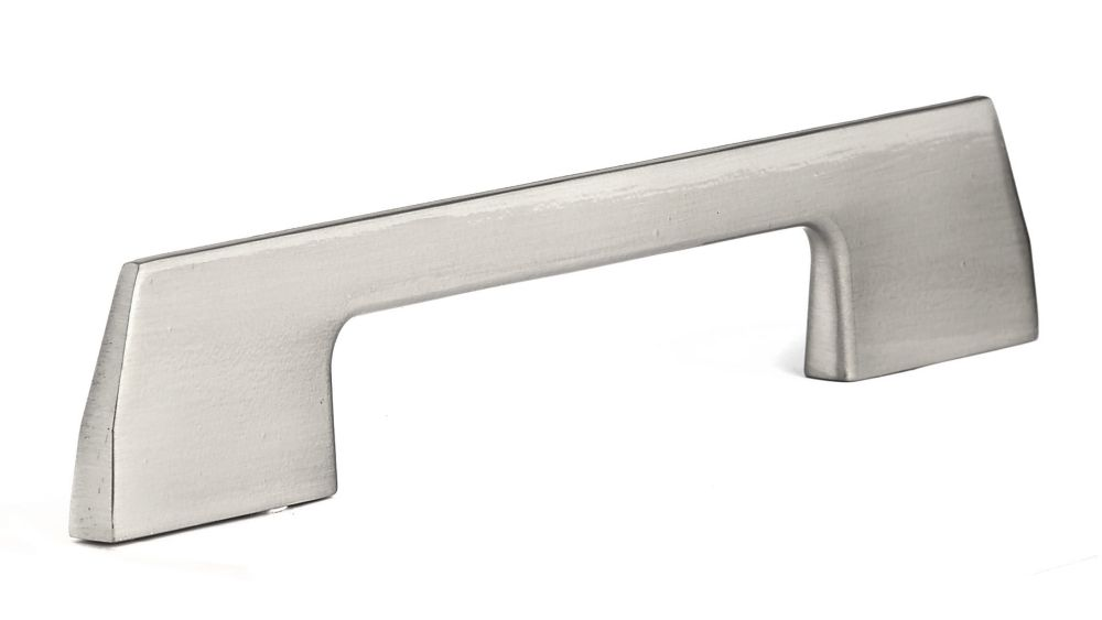 Richelieu Contemporary Metal Pull 5 1/32 in (128 mm) CtoC - Brushed Nickel  - Clason Collection
