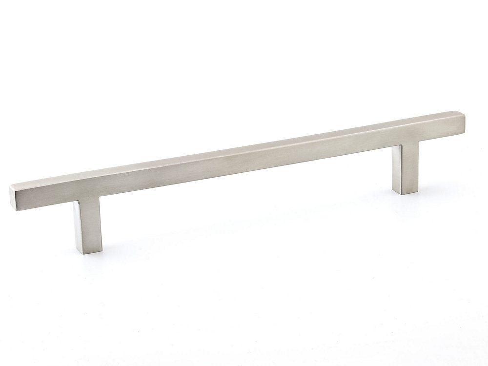 Contemporary Stainless Steel Pull 6 5/16 in (160 mm) CtoC - Sunset Collection