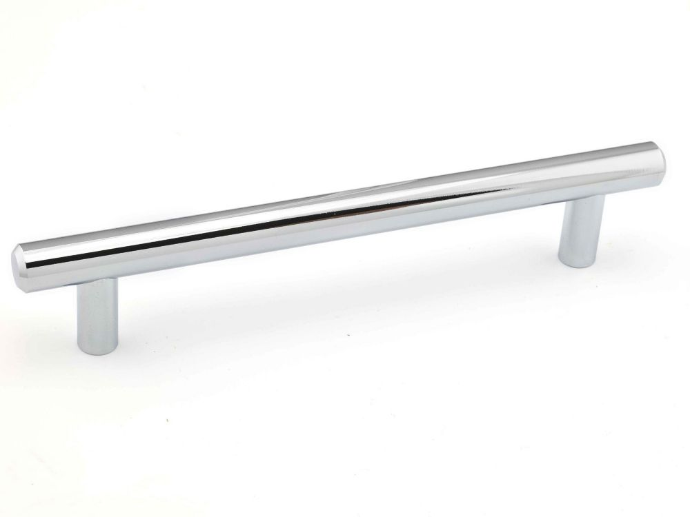 Richelieu Contemporary Metal Pull 6 5/16 in (160 mm) CtoC - Chrome  - Roosevelt Collection