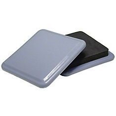 SUPER SLIDEX Gray Square Ultra-Sliding Glides