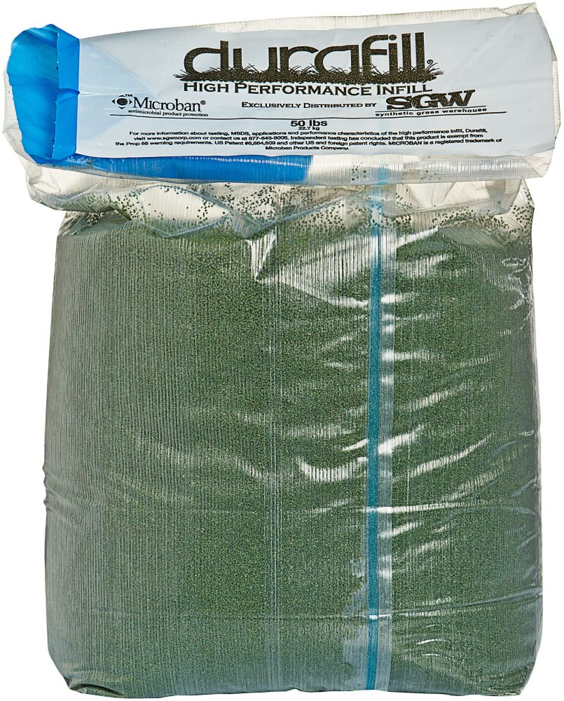 Durafill Greenline 50LB. Durafill High Performance Green Infill for Synthetic Lawns