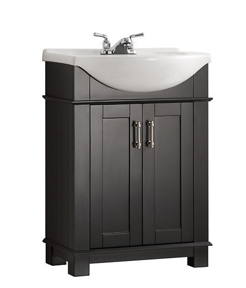 Fresca Hudson 24-inch W Traditional Bathroom Vanity in ...