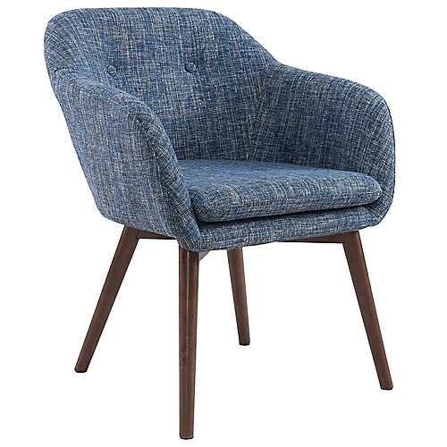 Minto Accent Chair in Blue Blend