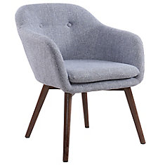 Minto Accent Chair in Grey Blend