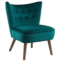 Suede Look Fauteuil.Accent Chairs The Home Depot Canada