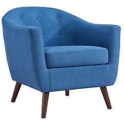 !nspire AMBER-ACCENT CHAIR-BLUE