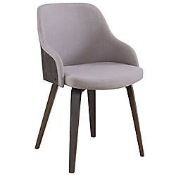 !nspire CASTILO-ACCENT CHAIR-GREY