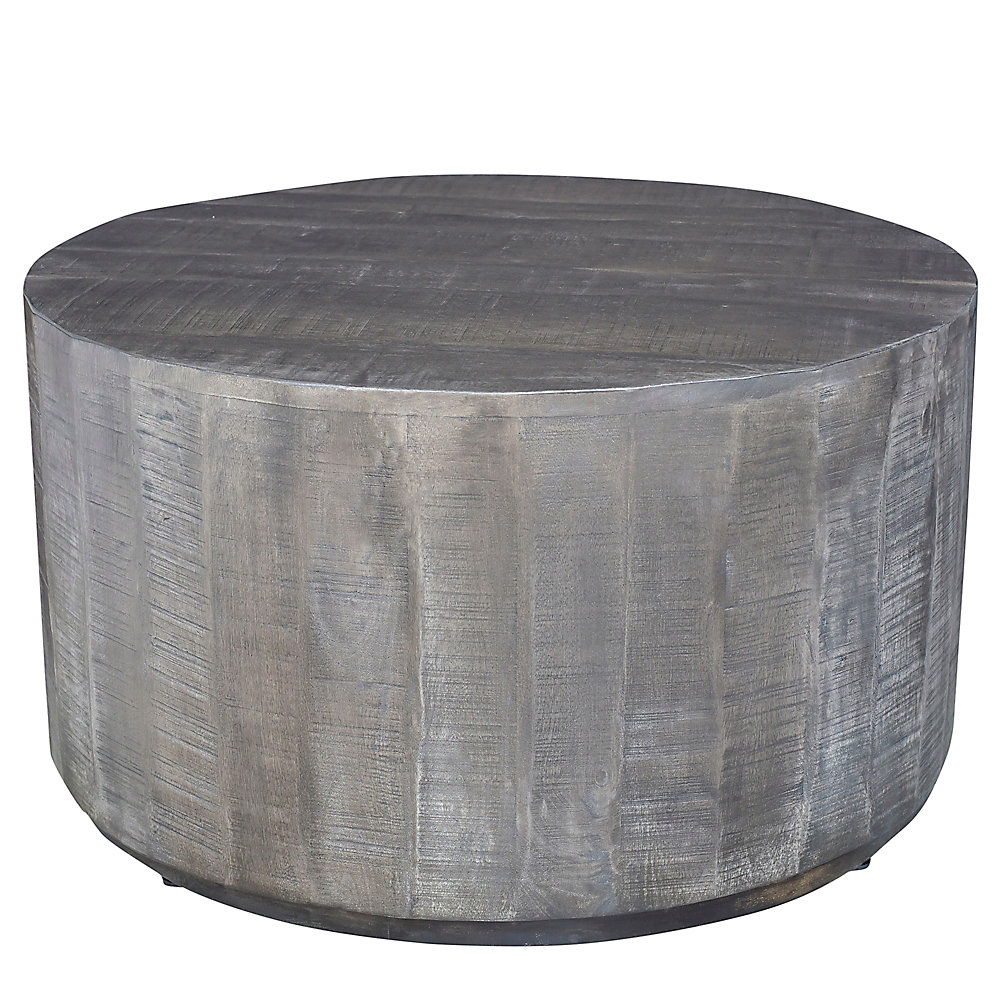 Distressed Gray Coffee Table.Eva Coffee Table Distressed Grey