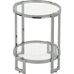 !nspire Bogdon Accent Table in Chrome