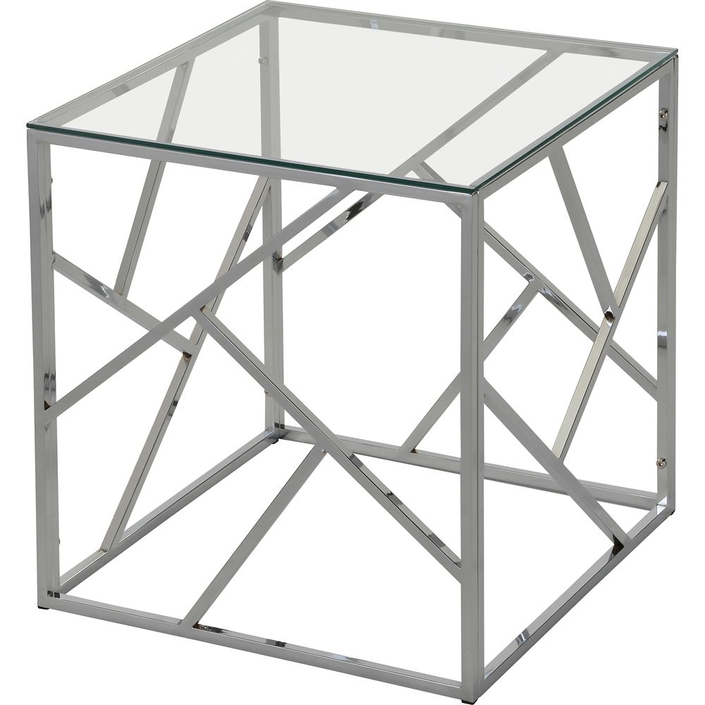 !nspire Giada Accent Table in Chrome