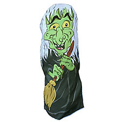 CTM Holiday Fun Bush Cover - Witch Hilda