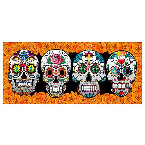 Balcony Banner - Sugar Skulls