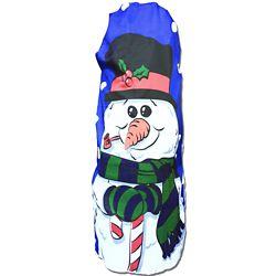 CTM Holiday Fun Bush Cover - Snowman Sam