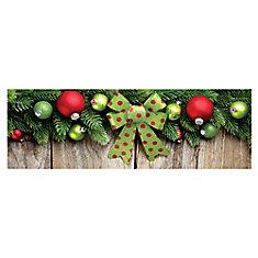 Balcony Banner - Holiday Decor