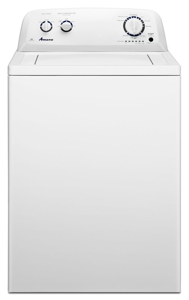 Amana 4.0 cu. ft. IEC High-Efficiency Top-Load Washer with Porcelain Tub in White