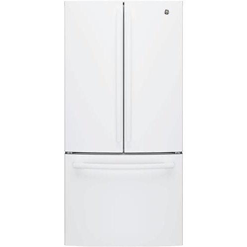 Réfrigérateur à porte française de 33 po de largeur et de 18,6 pi³ de hauteur, profondeur du comptoir, homologué ENERGY STAR. - ENERGY STAR®