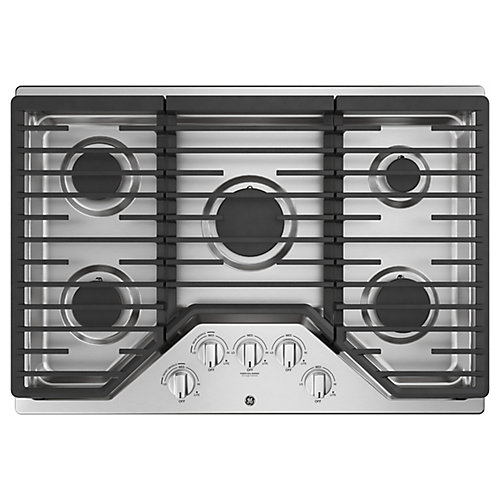 30 inch Gas Cooktop - Stainless steel